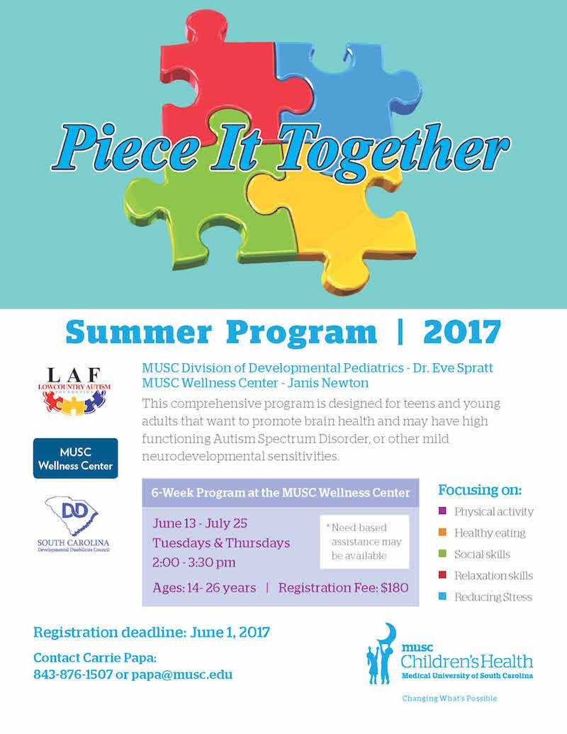 June 2017 Local Autism Events Roundup - Project Rex