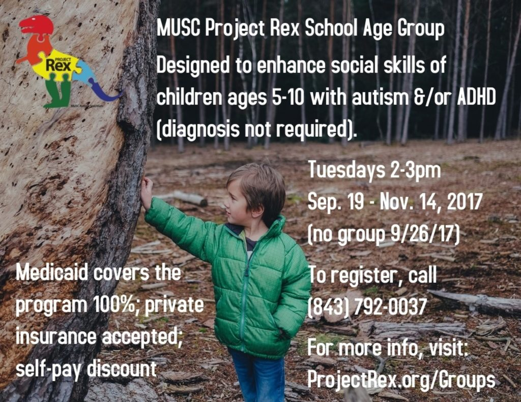 School Age Group Social Skills Autism ADHD